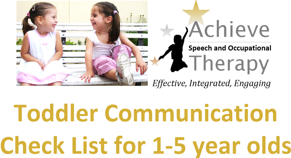 speech pathology checklist